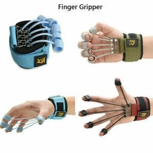Finger Gripper Strength Trainer Hand Yoga Resistance Band Finger Training Tool d