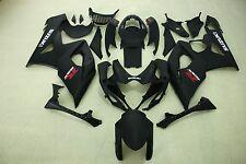 Aftermarket ABS fairings for suzuki GSXR1000 05-06 2005 2006 matt black colors