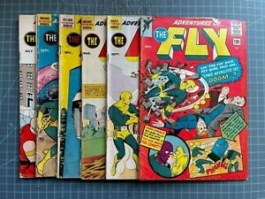 ARCHIE COMICS ADVENTURES OF THE FLY #5,8,21,23,26,30