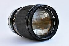 Canon 135mm f/2.5 FD SC super sharp lens. Mint-. Ideal for Sony A7 and NEX