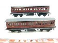 BI634-0,5# 2x TTR/Trix Twin Railways H0/DC 6301 Blech-Personenwagen/Abteilwagen