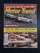 Motor Trend June 1960 Buick Invicta - Studebaker Lark - Corvette - Dodge  Desoto