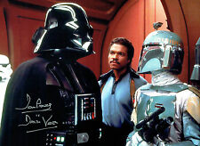 Dave PROWSE SIGNED Autograph Darth VADER Film Star Wars 16x12 Photo A AFTAL COA
