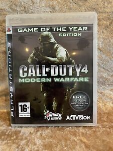 Call of Duty 4 (PS3) Game Of The Year Edition