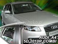 4 Deflettori Aria Antiturbo Audi A4 B8 2008-2015 5 porte Avant SW