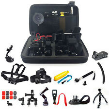 30in1 Pole Head Chest Mount Strap for GoPro Hero 2 3 3 4 Camera Accessories Set