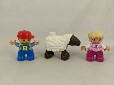 Lego Duplo Boy Girl Sheep Lot