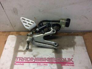 yamaha r6 5sl right rear set brake lever master cylinder 2003-2005