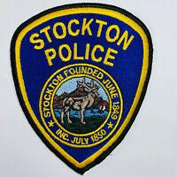 Stockton Police California CA Patch (C3-A)