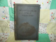 Old Book, The Operation, Care, and Repair of Farm Machinery, John Deere