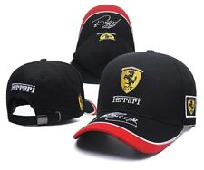 Ferrari Hat Car Horse Logo Baseball Black Cap Racing Team Men Women Polo Head 3D