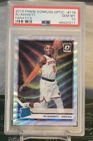 RJ Barrett ROOKIE Panini Donruss Rated Rookie Fanatics, PSA 10. NY KNICKS RC