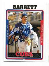MICHAEL BARRETT 2005 TOPPS AUTOGRAPHED SIGNED # 262 CUBS