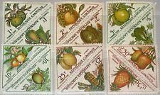 GABON GABUN 1962 Porto 34-45 Postag Due J34-45 Fruits Früchte Flora MNH