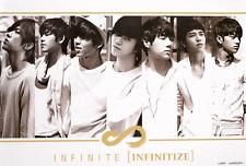 INFINITE - Infinitize (Mini Album) OFFICIAL POSTER *HARD TUBE CASE* K-POP