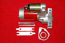 SBC BBC Chevy Mini Starter 3 Hp 3Hp Gear Reduction High Torque 153 168 Red