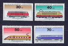 ALEMANIA/RFA WEST GERMANY 1975 MNH SC.B517/B520 Locomotives trains