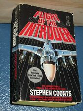 Flight of the Intruder  by Stephen Coonts paperback mystery 0671709607