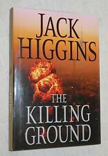 The Killing Ground by Jack Higgins (2008, Hardcover, Book Club Edition)