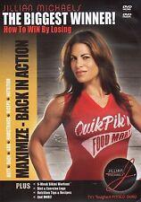 Jillian Michaels The Biggest Loser MAXIMIZE BACK IN ACTION (DVD) winner workout