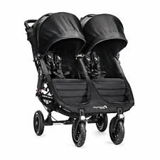Baby Jogger City Mini Double GT Passeggino Nero/black