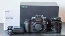 Fujifilm Fuji X-t2 Body zusammen mit Objektiv XF 18-55/2,8-4,0 R LM OIS