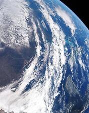 Apollo 12 Blick auf Erde aus Weltall Nasa 8x10 Silber Halogen Fotodruck