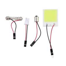 10PC 48SMD LED Car Interior Light Lamp Panel T10 Festoon Dome BA9S 12V White