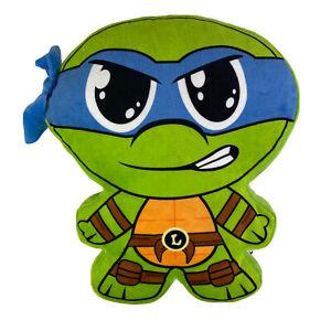"Nickelodeon Teenage Mutant Ninja Turtles Lenardo 14"" Plush Pillow Cuddle Nap Toy"