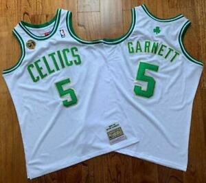 Kevin Garnett Boston Celtics #5 Jersey Adult Size S M L XL XXL