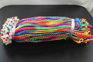 150pcs Wholesale Lots Lady Jewelry Multi-Coloured Bracelets Round Resin Bead