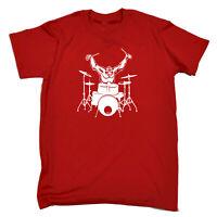 Funny Kids Childrens T-Shirt tee TShirt - Gorilla Drummer