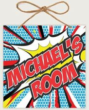 Personalized Sign Kid's Bedroom Decor Plaque Custom Engraved Name #27863