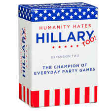 Cards Against Humanity - Humanity Hates Hillary Clinton, Too Expansion New!!