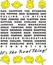 Smiley Gymnastics Real Thing t-shirt clothing