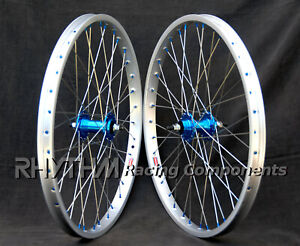 "OLD SCHOOL BMX WHEELSET WHEEL 24"" ARAYA 7X"