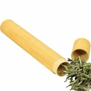 Bamboo Tea Tube, Travel Tea Canister