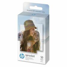"HP Sprocket 2x3"" Premium Zink Sticky Back Photo Paper (50 Sheets) Compatible NIB"