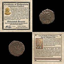 ST. VALENTINE COIN - Ancient Roman Love/Death Bronze Coin Claudius II 268-270 CE