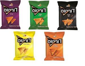 Doritos Nachos Corn Snack 5 Differents Flavors Kosher By Elite Israel 70g
