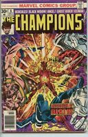 Champions 1975 series # 8 good comic book