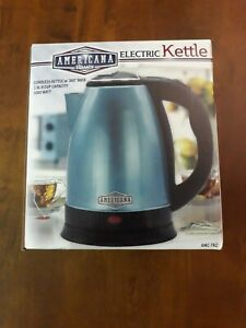 AMERICANA CLASSICS ELECTRIC KETTLE 8 CUPS NEW IN BOX FREE SHIPPING