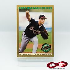 Greg Maddux - Atlanta Braves #19 Star Performers O-Pee-Chee 1993