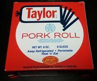 Taylor Pork Roll 6 Oz (4 Pack)