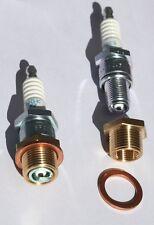 Car spark plug insert adapter M18 for REM40E,REM38E,RHM40E, Lycoming,Continental
