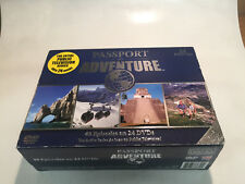 Passport to Adventure Travel Videos 24 Set DVD Award Winning Entire Series NEW