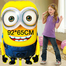 Small to Large All Size Minion Cartoon Foil Balloon Birthday Party Decoration