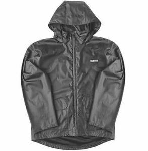 DeWalt Black Waterproof jacket ENCLOSED HOOD Medium