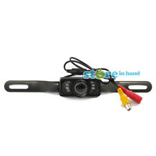 Car Reversing IR Camera Security Video Back Reverse Rear View with LED Lights