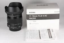 Sigma 17-70mm f/2.8-4 DC OS AF HSM Contemporary Lens For Nikon DX Format